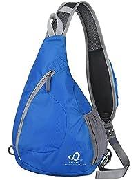 78f0e322c93e0 WATERFLY Schlinge Brust Rucksäcke Taschen Umhängetaschen Schulter Dreieck  packt Tagesrucksäcke für den Radsport zu Fuß Hund