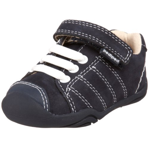 pediped Jungen Jake Sneaker, Blau (Navy Nv), 22 EU
