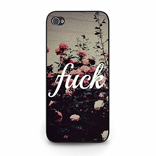 Fuck You Iphone 5/5s Case,Hipster Fancy Fuck You Phone Case Cover for Iphone 5/5s Fuck Elegant Color147d