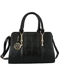 Hawai Fashionable Black Hand Bags For Women