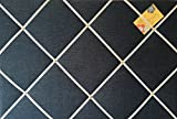 Groß, 40 x 60 cm, handgefertigt, Vintage-Stil, Jeans-Stoff-Pinnwand/Memo-Board,