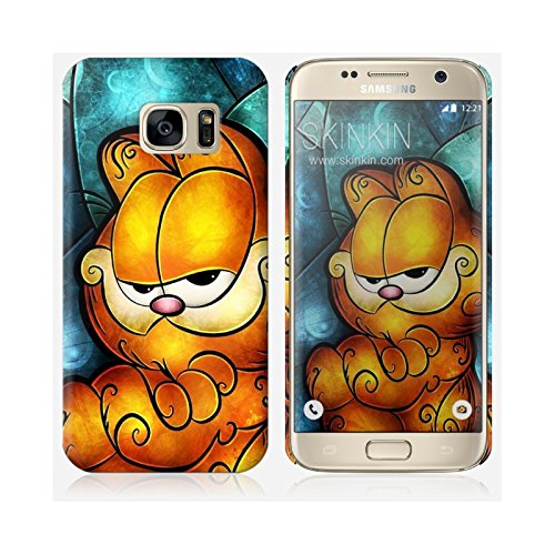 Coque iPhone 5 et 5S de chez Skinkin - Design original : Garfield par Mandie Manzano Coque Samsung Galaxy S7 Edge