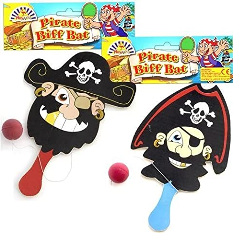 Pirata Biff Murciélagos Niño Juguetes, pack de 4
