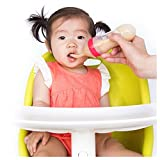 #5: Toyboy Silicone Baby Feeding Spoon Food Dispensing Infant Kids Weaning Feeder Bottle - Color May Very