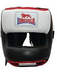 Lonsdale–de boxeo cerrado Casco Protector para boxeo, L / XL