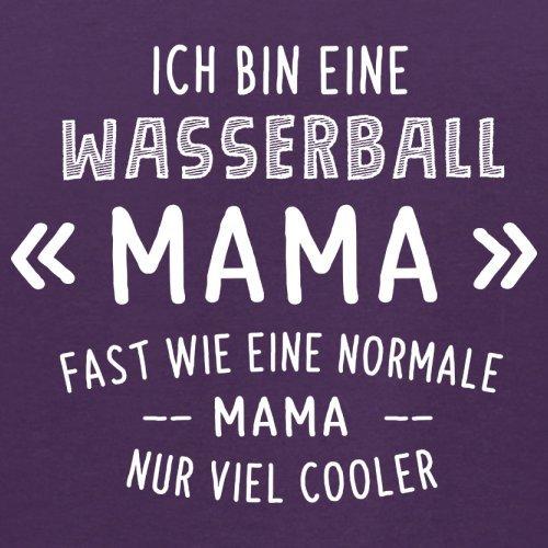 Ich bin eine Wasserball Mama - Herren T-Shirt - 13 Farben Lila