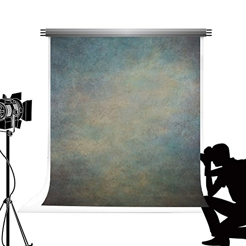 KateHome PHOTOSTUDIOS Kate Photography Backdrop Antique Retro Background Rust Iron Washable Collapsible Microfiber Abstract Photo Background Studio Photo Props 5x7ft/1.5x2.2m