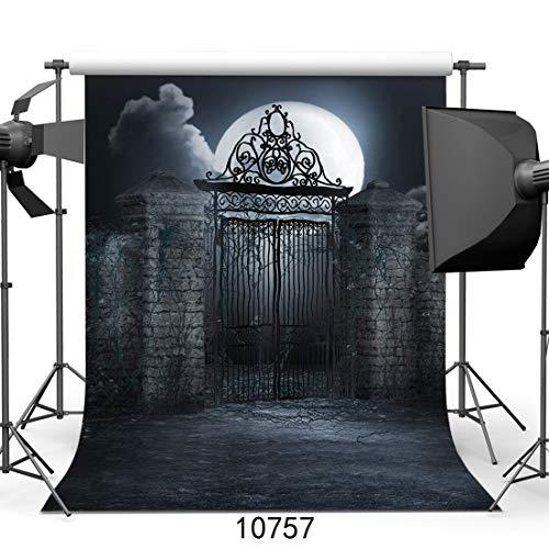 vrupi 9382 Fotohintergrund für Halloween, 1,52 x 2,1 m