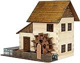 Walachia 8594036430167–N. 16mulino ad acqua in legno modello set da costruzione, Ferrovia 1/LGB
