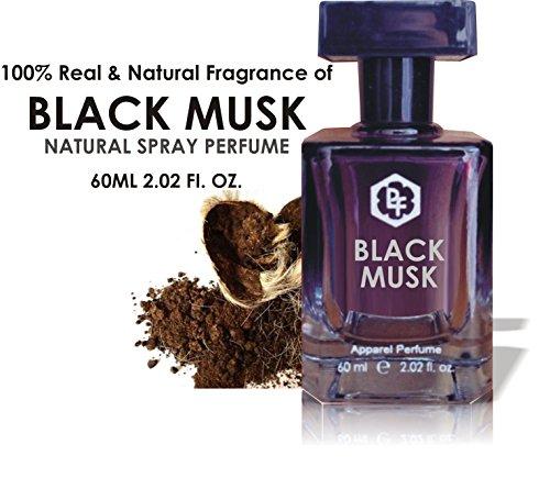 Parag fragrances Black Musk Perfume For Men 60Ml