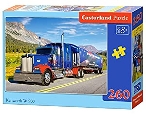 Castorland Kennworth W 900 260 pcs Puzzle - Rompecabezas (Puzzle Rompecabezas, Vehículos, Niños y Adultos, Niño/niña, 9 año(s), Interior)