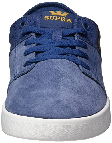 Supra Stacks II, Baskets Homme, Dk. Grey-White Blau (blue-white)