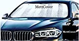 #9: MettCover® Car Windshield Sun Shade Premium Quality Universal Size