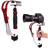 J Handheld Video Camera Stabilizer Steady Perfect For Gopro Hero 1 2 3 3+ 4 Sprots Camera Sjcam Sj4000 Sj5000 Sj5000  Xiaomi Sports Action Camera Red