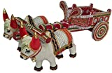 Hand Made Wooden Bullock Cart Showpiece ...