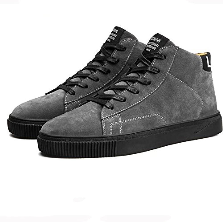Unbekannt YIXINY Schuhe Sneaker Plate Schuhe Herrenschuhe Teens Flat Freizeit Student Herbst Schwarz weissszlig Gold