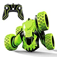 360° Degree Rolling Flips with 2.4Ghz High Speed remote control RC Stunt Car Spins and Flips Driving Car Toys for Kids Boy SOLALA