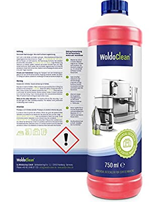WoldoClean Coffee Machine Descaler and Cleaner Descaling Kettle