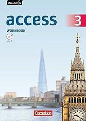 English G Access - Allgemeine Ausgabe: Band 3: 7. Schuljahr - Workbook mit Audio-CD