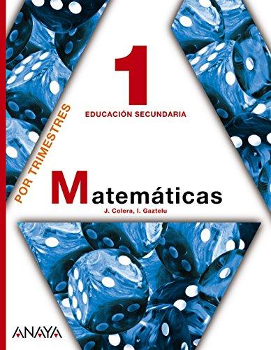 Matemáticas, 1 ESO (Andalucía, Castilla-La Mancha)