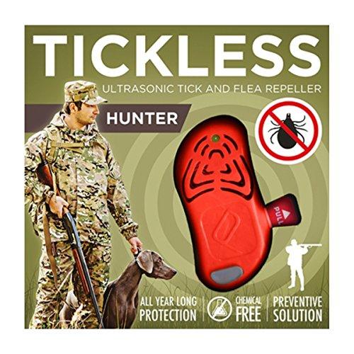 Tickless Anti-puces Hunter PRO-103OR (L x l x h) 60 x 27 x 20 mm Orange 1 pc(s)