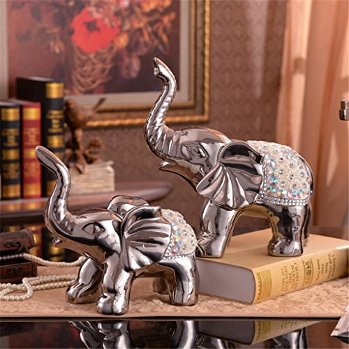 estilo-europeo-plating-proceso-elefante-un-par-decoracion-creativa-ceramica-decoracion-sala-de-estar
