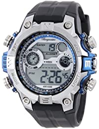 Burgmeister Herren Alarm-Chronograph Digitaluhr Digital Power, BM800-112C