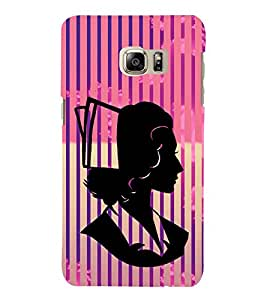 Creative Woman Design 3D Hard Polycarbonate Designer Back Case Cover for Samsung Galaxy Note 7 : Samsung Galaxy Note 7 N930G : Samsung Galaxy Note 7 Duos