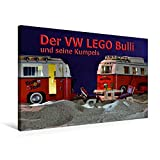 Premium Textil-Leinwand 75 cm x 50 cm quer, Ein Motiv aus dem Kalender Der VW LEGO Bulli und seine Kumpels | Wandbild, Bild auf Keilrahmen, Fertigbild Leinwand, Leinwanddruck (CALVENDO Hobbys)
