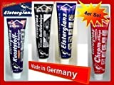 Elsterglanz 4er SET Chrom,Universal,Kunststoff,und Glaskeramik Politur, Paste