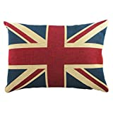 Union Jack Luxury Tapestry Filled Cushion