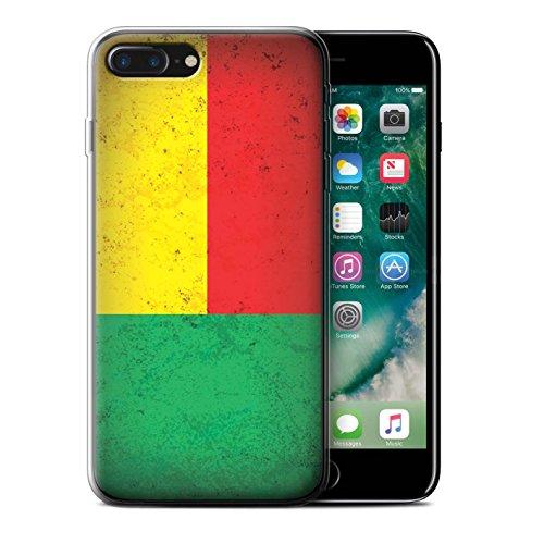 Coque Gel TPU de STUFF4 / Coque pour Apple iPhone 7 / Égypte/Égyptien Design / Drapeau Africain Collection Benin/Beninese