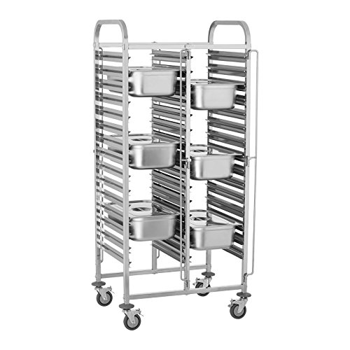 Royal Catering RCTW-30GN.1 Carro Bandejero Carrito