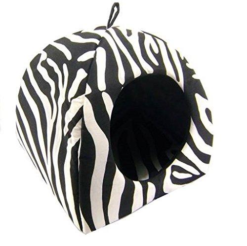 IOn CASA Igloo Perro Gato 40x40x40 Zebra