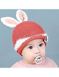 Myzixuan Casquillos de Lana del Invierno de Sombreros para niños de bebé a  niños Sombreros y Chicas Caliente… 0bb7148d71b