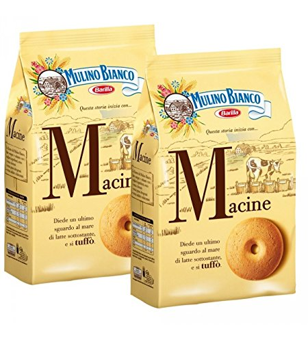 Mulino Bianco - Biscuits Macine 350 gr x 2 Sachets