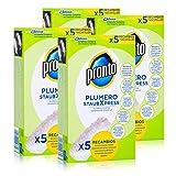 Pronto Plumero StaubXpress Nachfüllpack ohne Griff - 5 Faserköpfe (4er Pack)