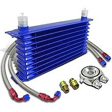 Kit Radiador Aceite universal para coche moto 10 rayas