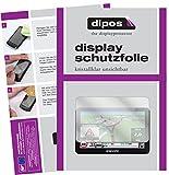 dipos I 3X Schutzfolie klar passend für Snooper Truckmate C8500 Folie Displayschutzfolie