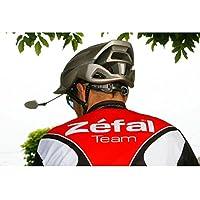 Espejo Retrovisor Irrompible Reversible Universal Profesional Originbal ZEFAL Alta Gama para Casco de Ciclismo Bicicleta 3596