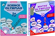 Olympiad Class 10 Combo(Maths + Science) For IMO & NSO (Set Of 2 Bo