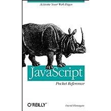 JavaScript Pocket Reference  (en anglais)
