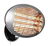 Best Quartz Heaters - Firefly 2kW Wall Mounted Infared Quartz Bulb Electric Review