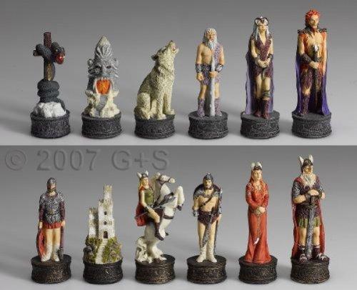 Preisvergleich Produktbild Schachfiguren Nordisches Sagenreich