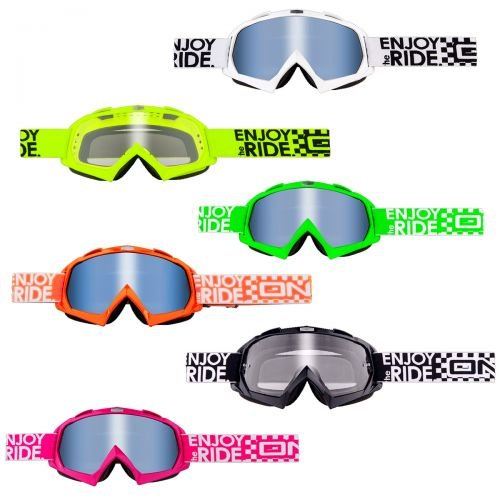 O'Neal B-Flex Launch Goggle MX DH Brille schwarz Oneal