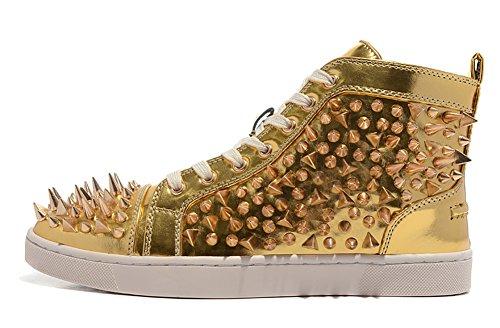 saman-sneakers-unisex-gold-louis-trainer-pik-pik-orlato-sp-nappa-laminato-high-top-spikes-buro-arbei