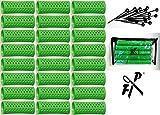 FP Flachwellwickler - Wasserwellwickler Set 25 mm grün m. Aufbewahrungstasche