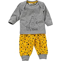 Lullaby Baby Boys Giraffe Hippo Party Animals Printed Pyjamas