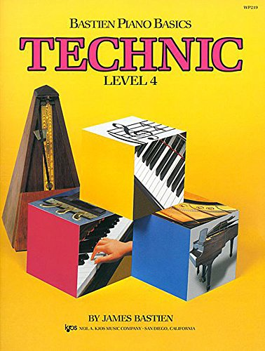 Bastien Piano Basics - Technic (Level 4)