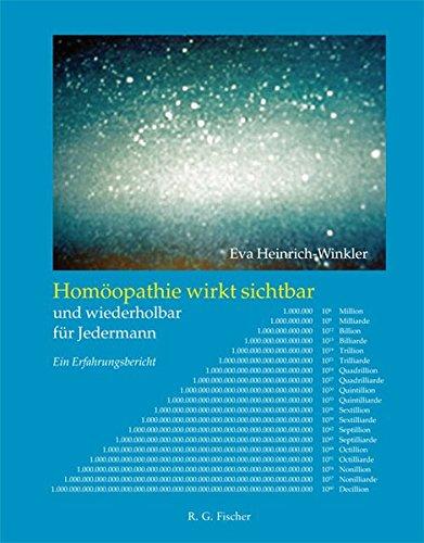 Homöopathie wirkt sichtbar und wiederholbar für Jedermann: Ein Erfahrungsbericht